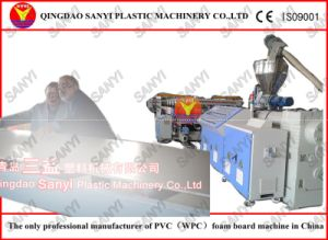 WPC Furniture Board Extrusion Machinery pictures & photos