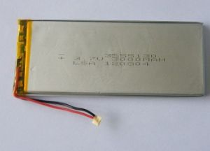 High Power 3.7V 4300mAh Tablet Battery pictures & photos