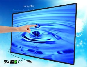 27′′ to 75′′ IR Multi Touch Screen Overlay, USB Plug and Play