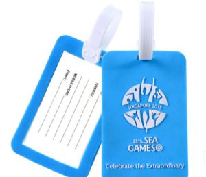 PVC Luggage Tag for Promotional Gift (OS26009) pictures & photos
