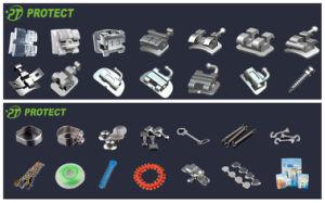 Orthodontic Metal Bondable/Monoblock Standard/Mini Edgewise Braces