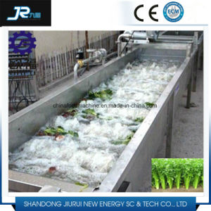 Industrial Bubble High Pressure Spraying Roller Brush Potato Washing Machine pictures & photos