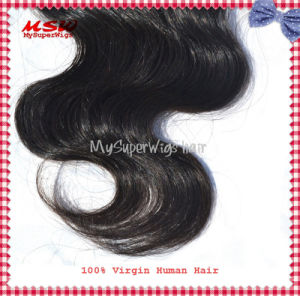Brazilian Virgin Hair Body Wave Natural Colour Human Hair Bundles pictures & photos