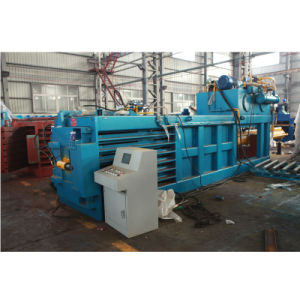 Semi-Automatic Horizontal Paper Baler Machine pictures & photos