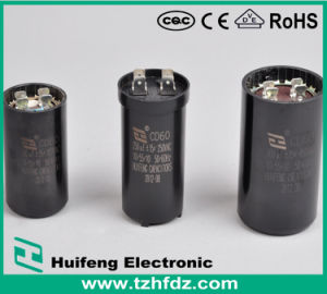 AC Motor Capacitor with VDE. CE. RoHS. CQC Approvals (CBB60) pictures & photos