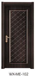 Low Price Hotsale Interior Solid Wooden Melamine Door pictures & photos