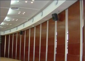 China Manufacturer Aluminium Interior Sound Absorption Accordion Room Dividers Folding Wall