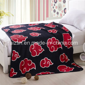 Wholesale 100% Polyester Cartoon Coral Fleece Blanket