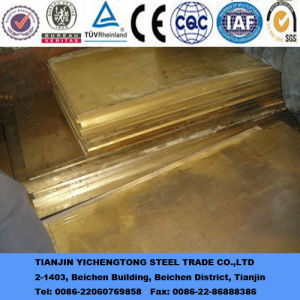 Half Hard Brass Sheet for Machine pictures & photos