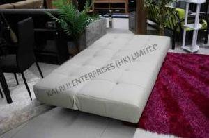 White PVC Modern Sofa Bed pictures & photos