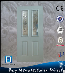 Hot Sale Double Lite Interior Steel Door pictures & photos