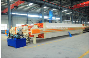 Slurry Dewatering Automatic Chamber Hydraulic Filter Press pictures & photos