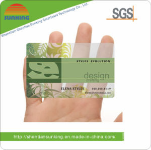 Transparent PVC Name Cards (SK- Z6)