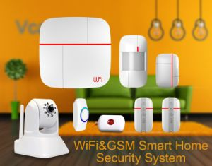 Smart Home Alarm System with Elderly People Care Function pictures & photos