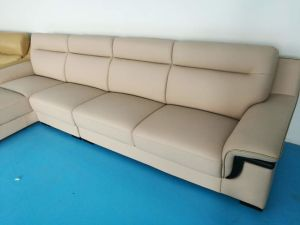 L Shape Real Leather Sofa, Living Room Furniture, Modern Sofa (652) pictures & photos