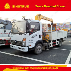 China Brand New Cdw Light Duty 8 Ton Crane Truck pictures & photos