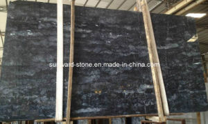 New Italy Grey Dark Marble Slabs for Flooring and Countertops