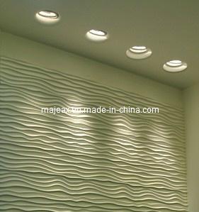 Fantastic Hotel Lobby Gypsum Wave Wall (MC-6001)
