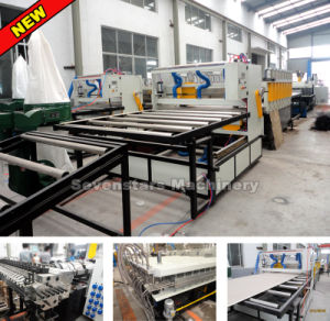 WPC PVC Free Foam Board Extrusion Line pictures & photos