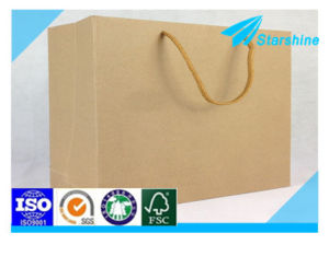 Food Grade Craft Paper Bags for Pack Hot Food pictures & photos