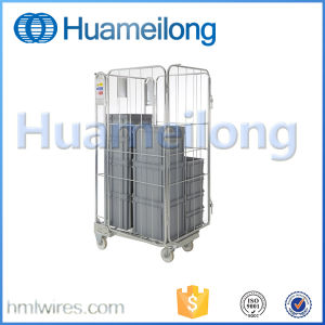 Foldable Supermarket & Laundry Warehouse Roll Container pictures & photos