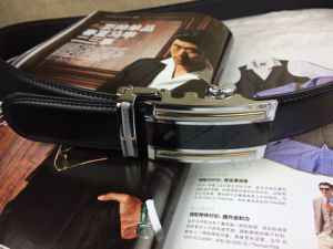 Leather Belts with Auto Buckle (HC-150405) pictures & photos
