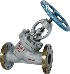 Y Type Bellows Seal Globe Valve pictures & photos