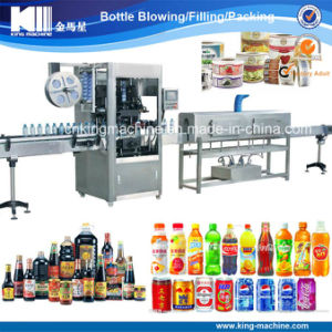 Full Automatic Plastic Bottle Sleeve Labeling Equipment pictures & photos