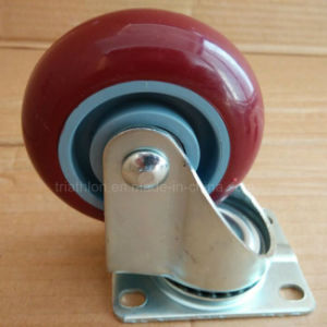 3 / 3.5 / 4 / 5 / 6X2 Inch Swivel Rotating TPR TPU TPE Caster Wheel pictures & photos