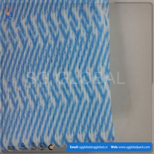 Viscose/Polyester Spunlace Nonwoven Wipes in Roll pictures & photos