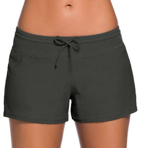 New Design Low Waist Lace-up Women′s Shorts Beach Vacation Sex Boxers pictures & photos