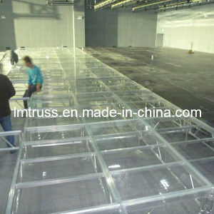 High Quality Stempered Acrylic Stage pictures & photos
