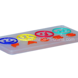 Custom 3D Silicone Cloth Label pictures & photos
