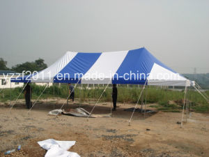 Steel Pipe Peg/Pole Tent 5X10m pictures & photos