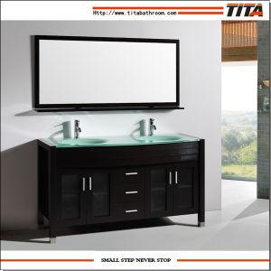 Hotel Bathroom Vanity/Classical Bathroom Vanity/American Classic Wooden Bathroom  Vanity (T9120)