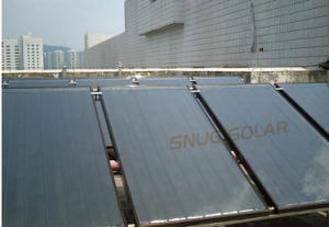 Desirable Pressurized Black Chrome Coating Solar Panel pictures & photos