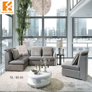 Foshan Newland Furniture ,Home Furniture, Modern Fabric Low Seat Sofa (NL-M146)