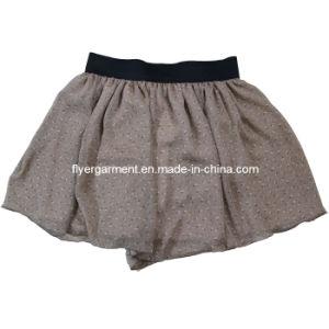 Lady Fashion &Knitted Chiffon Dress Skirt (MDC-024)
