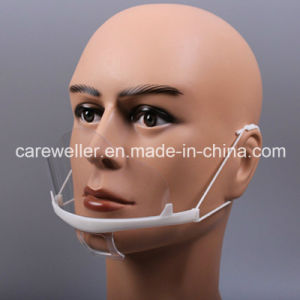 Plastic Transparent Mouth Mask / Mouth Mask pictures & photos