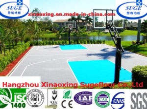 Outdoor Suspended Interlocking Basketball Court Floor pictures & photos