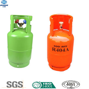 Air Condition Gas R134A in Double Valve CE Certified Cylinder pictures & photos