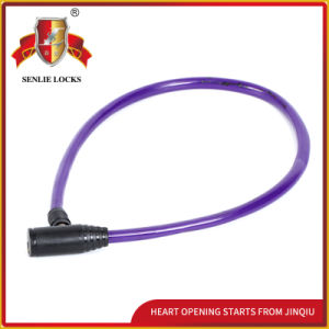 Jq8202-1two Colors High Quality Bicycle Lock Motorcycle Steel Cable Lock pictures & photos