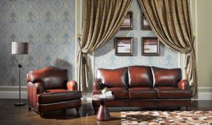 Most Comfortable Leather Sofa (A11&A12) pictures & photos