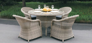 Rattan Dining Set Outdoor Garden Wicker Furniture pictures & photos