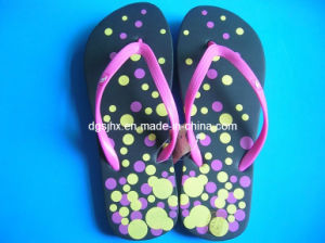 Colorful Print EVA Slippers pictures & photos