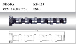 Aoto Camshaft for Skoda and VW (059.109.022bc) pictures & photos