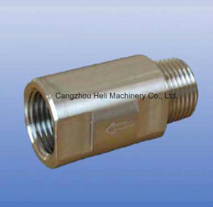 Stainless Steel Spring Check Valve-FF by Bar pictures & photos