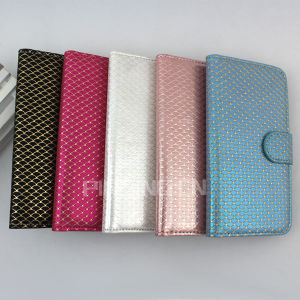 Fish Scales Pattern Flip Cover Leather Case for Lanix L600 pictures & photos