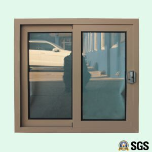 Powder Coated Aluminium Alloy Window with Special Lock, Aluminum Sliding Window K01011 pictures & photos