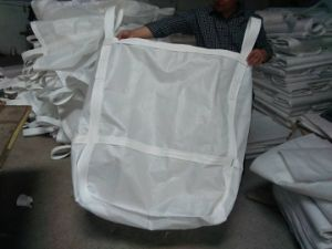 100% New PP White Color PP Bulk Bag pictures & photos